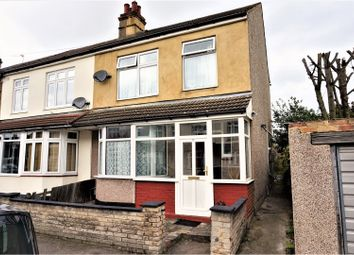 Thumbnail 3 bedroom end terrace house for sale in Marshalls Road, Romford