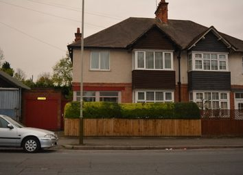 Thumbnail 5 bed semi-detached house for sale in Evington Lane, Leicester
