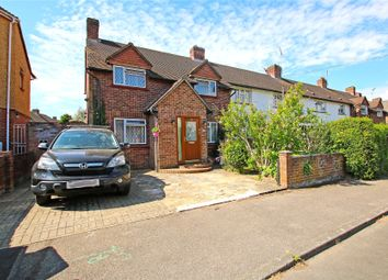 Thumbnail 3 bed end terrace house for sale in Weybridge, Surrey