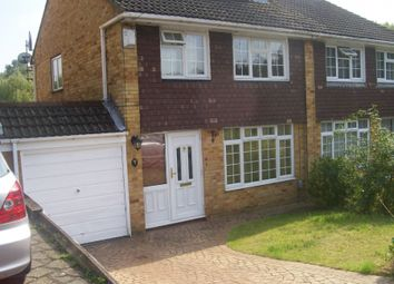 Thumbnail 3 bed semi-detached house to rent in Trelleck Road, Reading, Berkshire