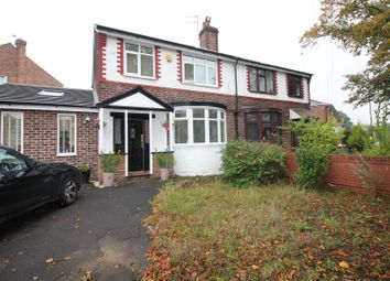Thumbnail 3 bed semi-detached house for sale in Lodge Avenue, Urmston, Manchester