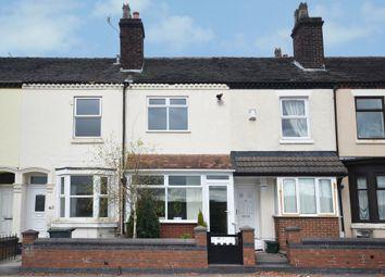 Thumbnail 2 bed terraced house for sale in Leek Road, Shelton, Stoke-On-Trent