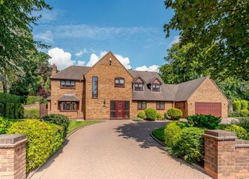 Thumbnail 5 bed detached house for sale in Barker Road, Sutton Coldfield
