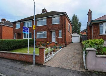 Thumbnail 3 bed semi-detached house for sale in Roddens Park, Castlereagh, Belfast
