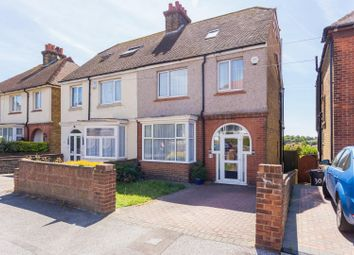 Thumbnail 4 bedroom semi-detached house for sale in Wellesley Road, Margate