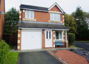 Thumbnail 3 bed detached house for sale in Eastwood Place, Cramlington
