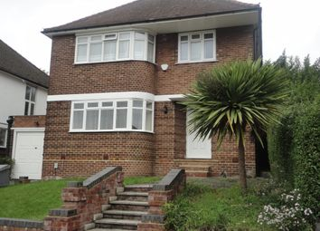 Thumbnail 4 bed detached house to rent in East Hill, Wembley, Middlesex