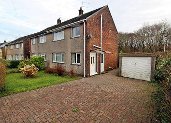 Thumbnail 3 bed semi-detached house for sale in Woodland Road, Beddau, Pontypridd, Rhondda, Cynon, Taff.