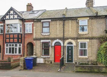 Thumbnail 2 bedroom terraced house for sale in Burwell Road, Exning, Newmarket