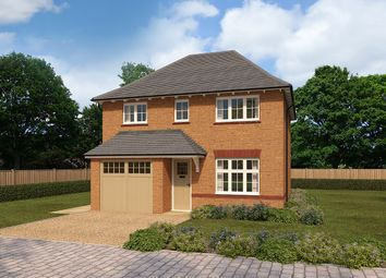 Thumbnail 4 bed detached house for sale in The Orchards, Pulley Lane, Droitwich, Worcestershire