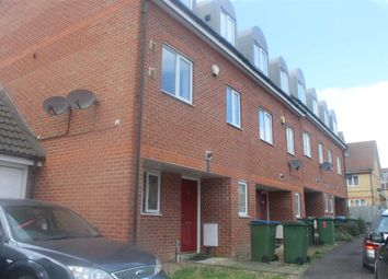Thumbnail 4 bed end terrace house for sale in Teasel Crescent, Thamesmead, London