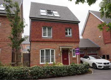 Thumbnail 4 bed link-detached house for sale in Stephenson Grove, Prescot