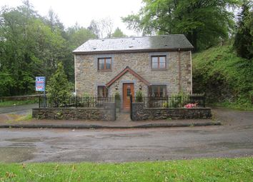 Thumbnail 4 bed detached house for sale in Station Road, Caehopkin, Abercrave, Swansea.