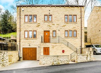 Thumbnail 5 bed detached house for sale in Thorn Bank, Luddendenfoot, Halifax