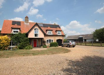 Thumbnail 4 bed detached house for sale in Second Drove, Little Downham, Ely