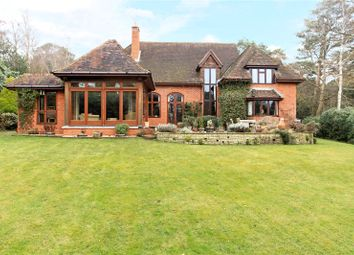 Thumbnail 5 bed detached house for sale in Swifts Close, Farnham, Surrey
