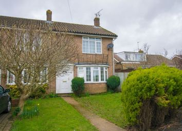 Thumbnail 2 bed end terrace house for sale in Sycamore Court, Uckfield