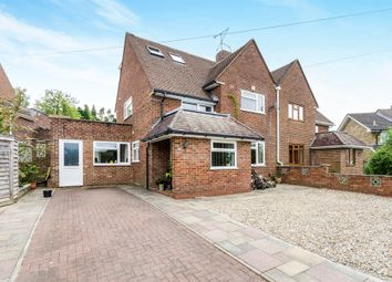 Thumbnail 4 bed semi-detached house for sale in Fox Lane, Winchester