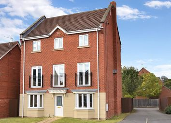 Thumbnail 4 bed detached house for sale in Lancaster Road, Coddington, Newark