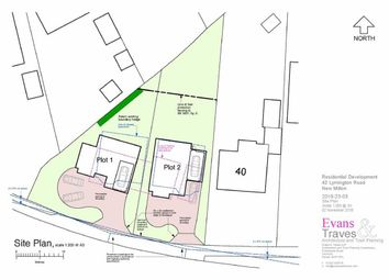 Thumbnail Land for sale in Lymington Road, New Milton