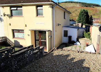 Thumbnail 3 bed semi-detached house for sale in Waun Avenue, Glyncorrwg, Port Talbot