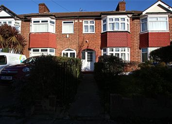 3 bed terraced house for sale in Lynmouth Avenue, Bush Hill Park, Enfield, Middlesex EN1