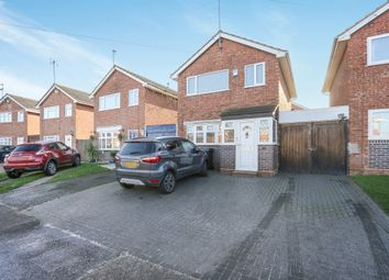 Thumbnail 3 bed detached house for sale in Whernside Drive, Wolverhampton