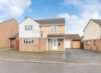 Thumbnail 4 bed detached house for sale in Trafalgar Avenue, Barleyhurst, Milton Keynes