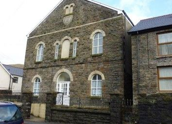 Thumbnail 1 bed flat to rent in Oxford Street, Pontycymer, Bridgend