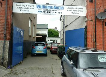 Thumbnail Light industrial for sale in York Road, Colwyn Bay