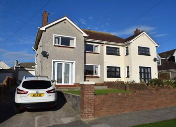 Thumbnail 4 Bed Semi Detached House For Sale In Penylan Avenue Porthcawl