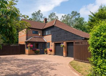 Thumbnail 4 bed detached house for sale in Tattam Close, Woolstone, Milton Keynes