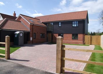 Thumbnail 3 bedroom barn conversion for sale in Church Road, Cratfield, Halesworth