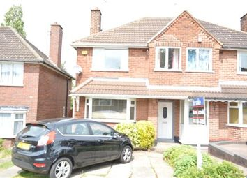 Thumbnail 3 bed semi-detached house for sale in Raeburn Road, Pheasey Estate, Great Barr