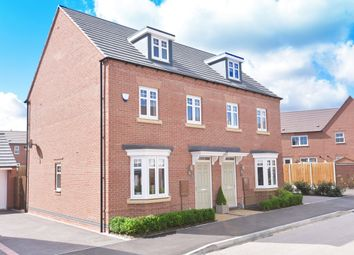 "Thumbnail 3 bed terraced house for sale in ""Kennett"" at Beggars Lane, Leicester Forest East, Leicester"