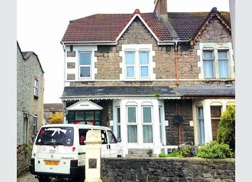 Thumbnail 3 bedroom semi-detached house for sale in Ashcombe Road, Weston-Super-Mare