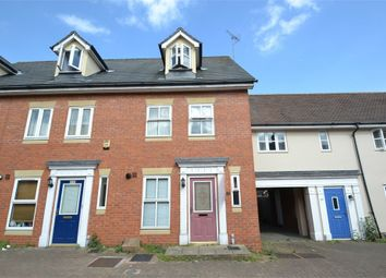 Thumbnail 4 bedroom terraced house to rent in Hatcher Crescent, Colchester, Essex