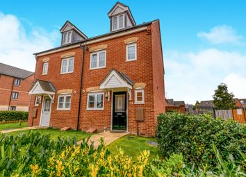 Thumbnail 3 bed semi-detached house for sale in Dave Bowen Close, St Crispins, Northampton