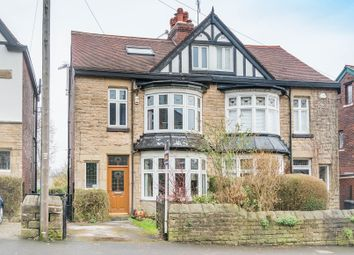 Thumbnail 5 bed semi-detached house for sale in Banner Cross Road, Sheffield