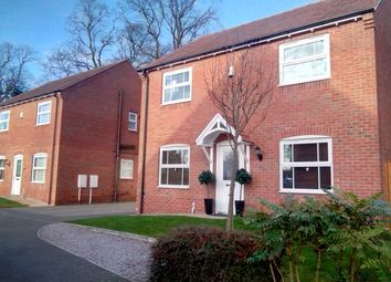 Thumbnail 4 bed detached house for sale in Manor School View, Overseal, Swadlincote, Derbyshire