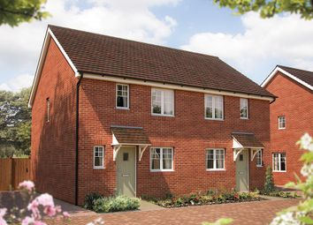 "Thumbnail 2 bed semi-detached house for sale in ""The Radcot"" at Coxwell Road, Faringdon"