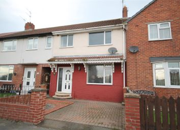 Thumbnail 3 bedroom terraced house for sale in Laburnum Gardens, Willington, Crook