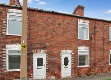 Thumbnail 2 bed terraced house to rent in Moss Terrace, Goole Road, Moorends
