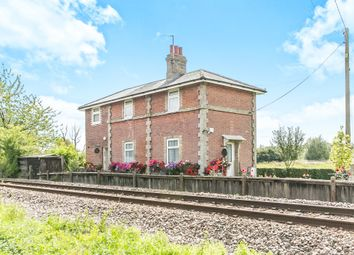 Thumbnail 3 bed detached house for sale in Bures Road, Little Cornard, Sudbury