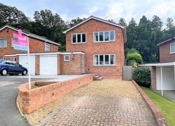 Thumbnail 3 bed detached house for sale in Bayfield Avenue, Frimley, Camberley, Surrey