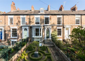 Thumbnail 3 bed terraced house for sale in Mount Parade, York, North Yorkshire