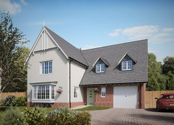 Thumbnail 4 bed detached house for sale in Hampton Drive, Kings Sutton, Banbury