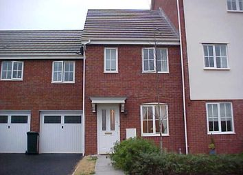 Thumbnail 2 bed terraced house to rent in Cypress Gardens, Longlevens, Gloucester