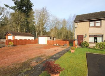 Thumbnail 2 bedroom semi-detached house for sale in 6 Crathie Quadrant, Wishaw