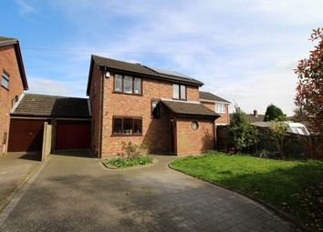 Thumbnail 4 bed link-detached house for sale in Long Lane, Mulbarton, Norwich